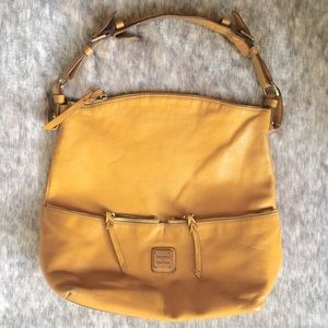 Dooney & Bourke Yellow Leather Handbag